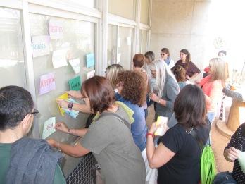 Compartint idees i formació amb famílies, mestres i jardiners