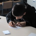 Un futur arquitecte? Aprenent a pensar, interpretar i a dibuixar.
