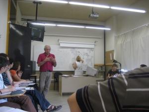 Philippe Meirieu a l'escola d'estiu de Rosa Sensat 2008