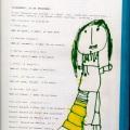 Pagina del diari amb el dibuix de la Mònica
